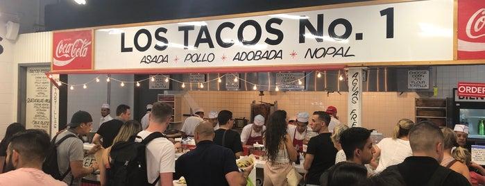 Los Tacos No. 1 is one of Newyork Gidilebilecek Mekanlar.