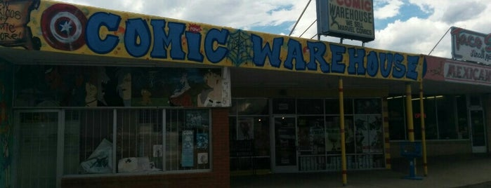 Comic Warehouse is one of Tempat yang Disukai Estevan.