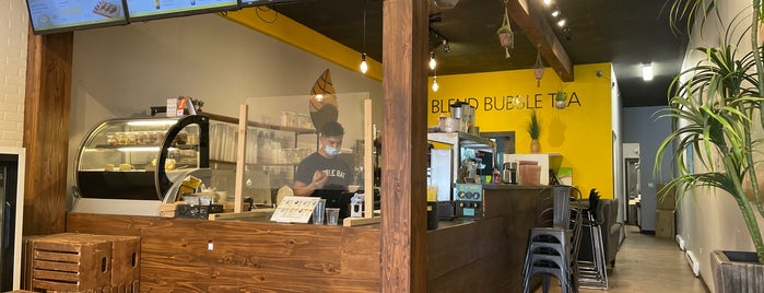 Blend Bubble Tea is one of YVR.