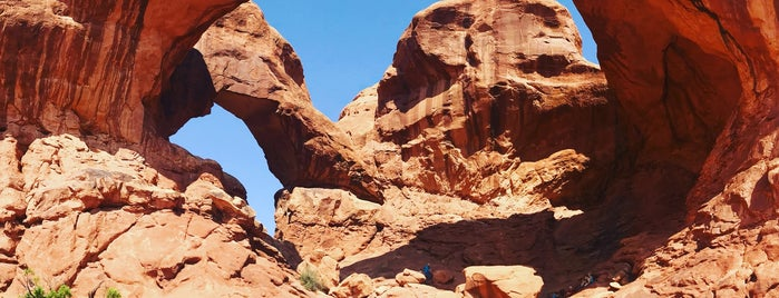 Arches National Park Outlook is one of Gespeicherte Orte von Darcy.