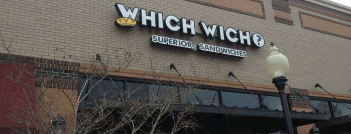 Which Wich? Superior Sandwiches is one of Orte, die Tracie gefallen.