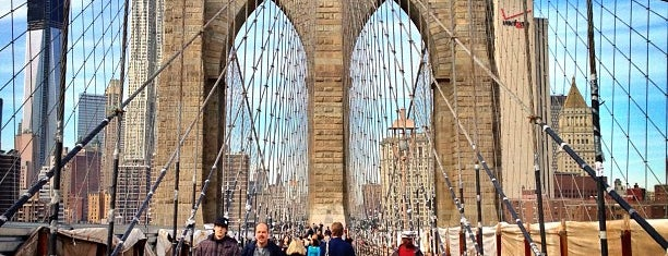 Brooklyn Bridge Promenade is one of To-Do NYC.