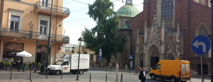 Plac Dominikański is one of Krakow.