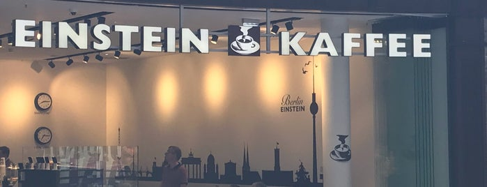 Einstein Kaffee is one of Joud's Liked Places.