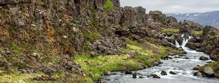 Национальный парк «Тингведлир» is one of Marie : понравившиеся места.