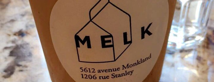 MELK Bar à Café is one of Locais curtidos por Marie.
