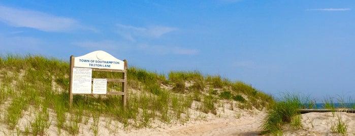 Triton Beach is one of Marie : понравившиеся места.