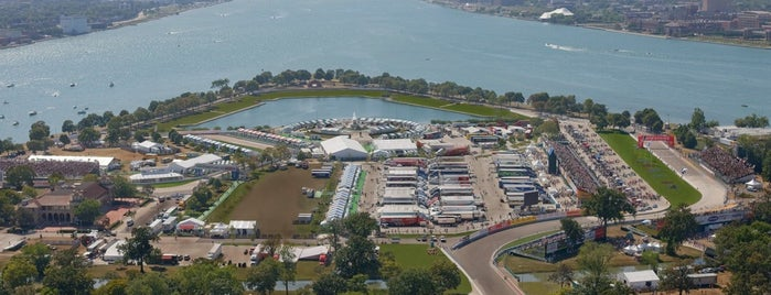 Belle Isle Grand Prix Race Circuit is one of Lugares favoritos de Greg.