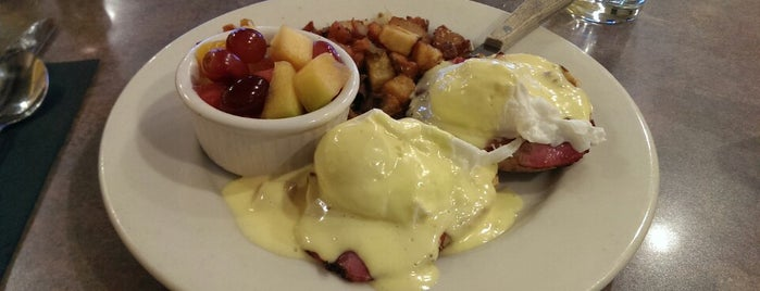 Milo's City Cafe is one of America's 50 Best Eggs Benedict Dishes.