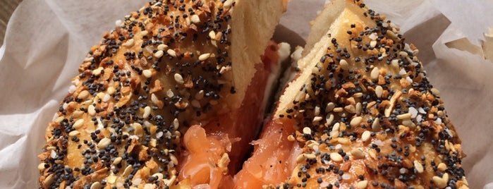 Sadelle's Bagels Pop-up at Feast of San Gennaro is one of new york w/ nil.