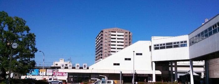 Arakawaoki Station is one of JR 키타칸토지방역 (JR 北関東地方の駅).