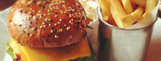 Corner Burger is one of Moscow TOP places.