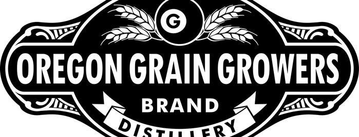 Oregon Grain Growers Brand Distillery is one of Oregon Distillery Trail.