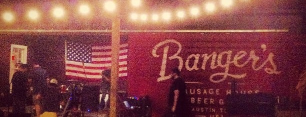 Banger's Sausage House & Beer Garden is one of Top Beer Gardens to Celebrate Oktoberfest.