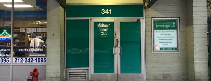 Midtown Tennis Club is one of JT.