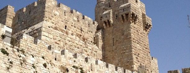 Tower of David is one of Shabbat Shalom.