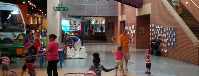 Marbles Kids Museum is one of RDU Baton - Raleigh Favorites.