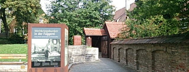 Fuggerei bunker is one of Augsburg.