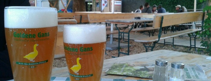 Biergarten Goldene Gans is one of Wurzburg.