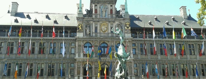 Stadhuis Antwerpen is one of Go Ahead, Be A Tourist.