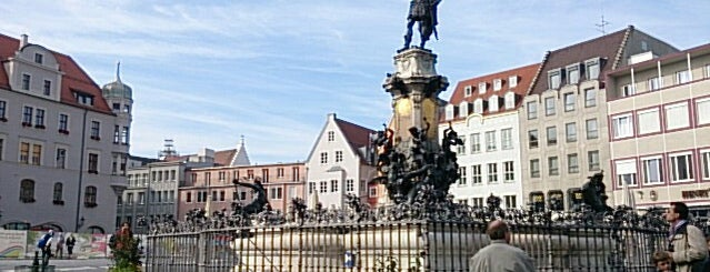 Augustusbrunnen is one of Augsburg.
