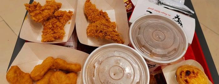 KFC is one of Tempat yang Disukai Ian.