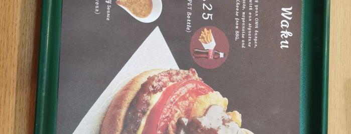 MOS Burger is one of Ian 님이 좋아한 장소.