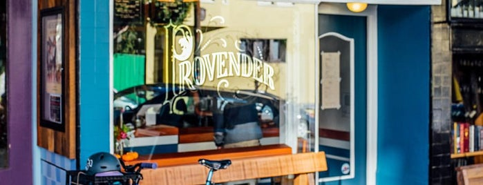 Provender Coffee is one of Juha's San Francisco Favorites.