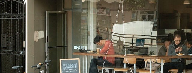 Hearth Coffee Roasters is one of Sf.