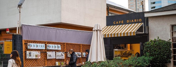 Café Diario is one of Santiago Specialty Coffee Shops.