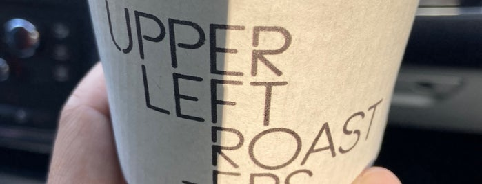 Upper Left Roasters is one of Locais curtidos por Benjamin.