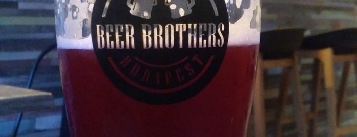 Beer Brothers is one of Budapest.
