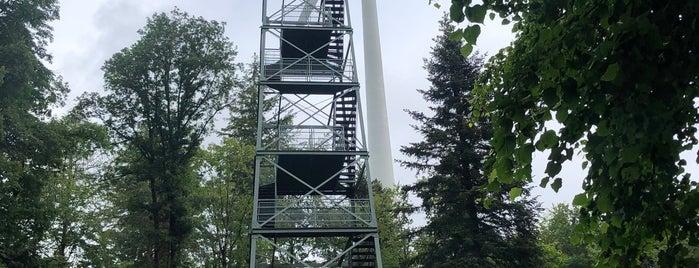 Rosskopf Tower is one of Orte, die Ingrid gefallen.