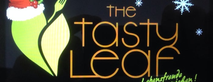 The Tasty Leaf is one of Go Veggie!.