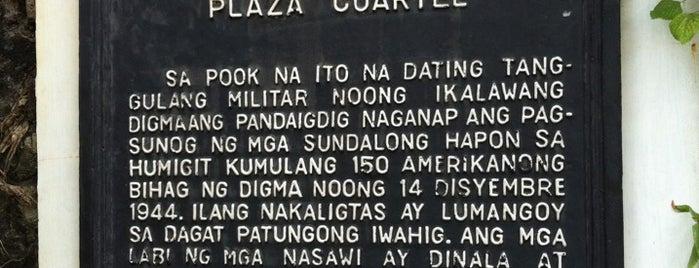Plaza Cuartel is one of Filipinler-Manila ve Palawan Gezilecek Yerler.