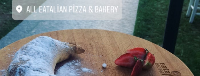 All Eatalian ( Pizza - Bakery - Breakfast ) is one of Lugares favoritos de Caner.