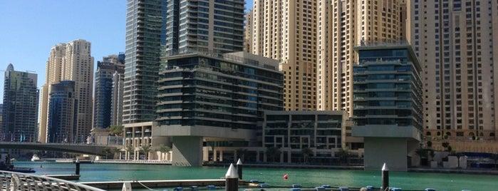 Dubai Marina Walk is one of The Ultimate Guide to Dubai.