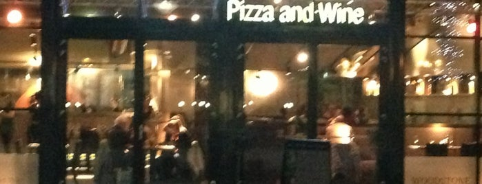 Woodstone Pizza and Wine is one of VEGAN NL.