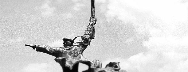 Памятник матросу и солдату is one of Stanislav : понравившиеся места.