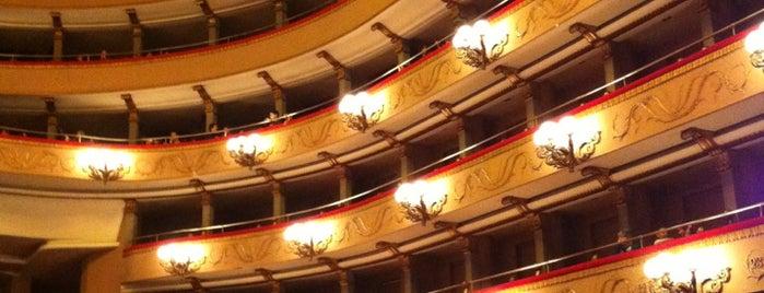 Teatro Verdi is one of Tempat yang Disukai Rosalba.