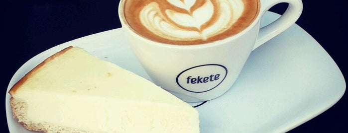 fekete is one of Caffeinating.