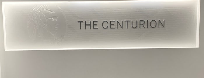 The Centurion Lounge by American Express is one of Locais curtidos por Chaz.