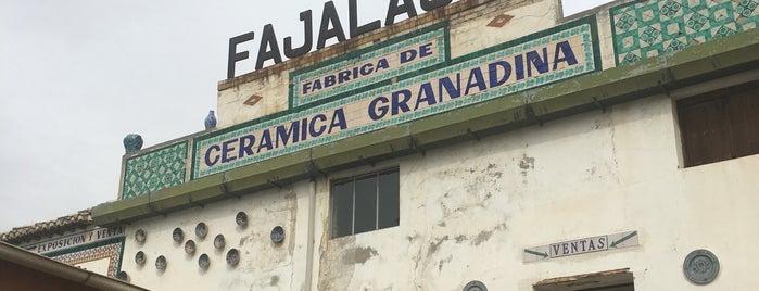Fajalauza is one of Comerços.