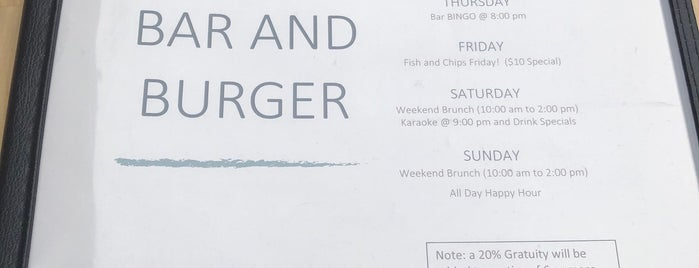 Otter Bar & Burger is one of Seattle.