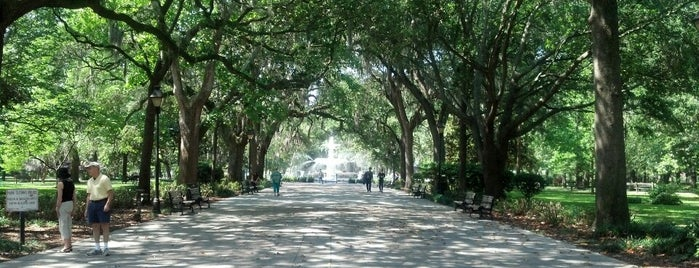 Forsyth Park is one of Savannah Sunrise.