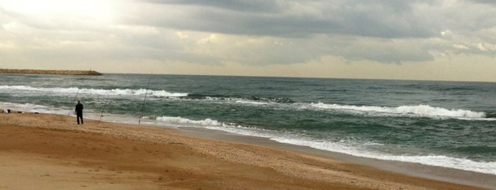 Tel Baruch Beach is one of I heart Tel Aviv.
