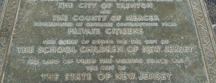 Trenton War Memorial is one of North America.