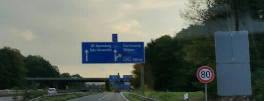 Kreuz Bochum/Witten (19) (42) is one of Autobahnkreuze.