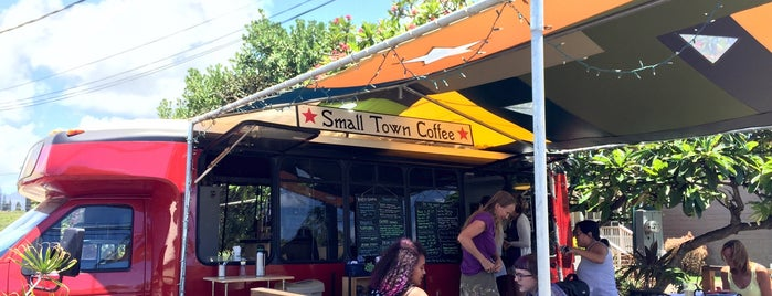 Small Town Coffee is one of Dog friendly by day.