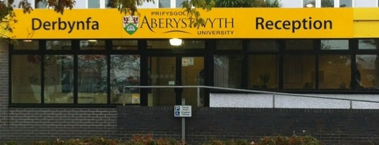 Aberystwyth University is one of Carl : понравившиеся места.